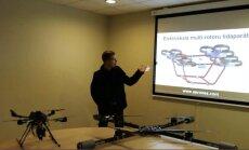 Latvijā veidots drons pacēlis 80 kilogramus smagu kravu