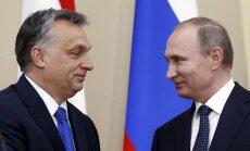 Putins februārī apmeklēs Ungāriju