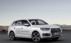 Hibrīda 'Audi Q7' spēj nobraukt līdz 1410 km