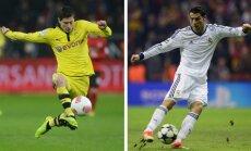 UEFA Čempionu līga: Dortmundes 'Borussia' - 'Real Madrid' 4:1 (spēle noslēgusies)