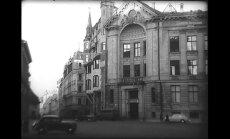 Vēsturiski kadri: Latvijas Radio telpu atklāšana pēc pārbūves 1949. gadā