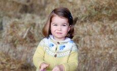 В честь двухлетия принцессы Шарлотты опубликован ее новый официальный снимок
