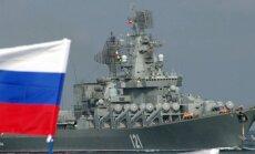 Sīrijas konflikts: Krievija uz Vidusjūras austrumiem sūta karakuģus
