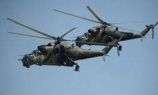 Putina draudīgais ierocis Sīrijā: Mi-24 helikopters