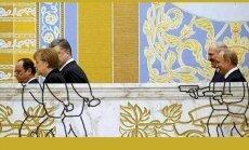 Foto: Jokdari izsmej pat Minskas miera sarunas