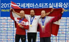 Latvijas vieglatlētiem 26 medaļas pasaules čempionātā vecmeistariem