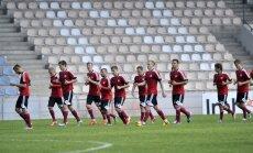 Latvijas futbolisti Rīgā centīsies apbēdināt spēcīgo Bosnijas un Hercegovinas valstsvienību