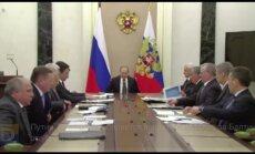 Путин: Россия не собирается воевать с НАТО из-за Балтии, это бред