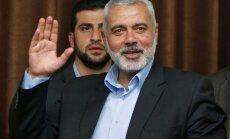 Par jauno 'Hamas' līderi ievēlēts bijušais Gazas joslas vadītājs Ismails Hanija