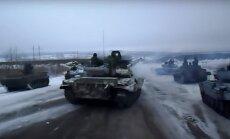 Publicēts Krievijas algotņu Ukrainā filmēts video