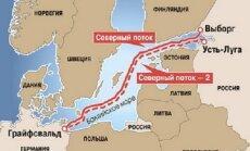 """""""Газпром"""" рассчитывает получить разрешения по """"Северному потоку — 2"""" до середины 2018 года"""