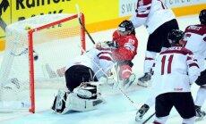 Video: Masaļskis 'zvērs', Latvija fantastiski uzvar Šveici