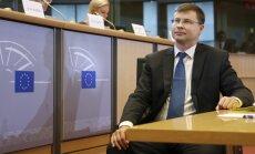 Dombrovskis: Latvijas ekonomikas izaugsme pērn piebremzējusies