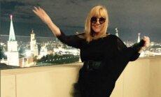 Alla Pugačova pārsteidz fanus ar stila maiņu