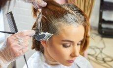 Nieze un neizbēgamie pleķi: kā kopt ādu pirms un pēc matu krāsošanas