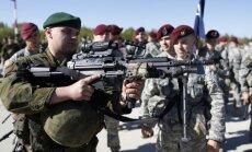 Foto: Arī Lietuvā sagaida ASV desantniekus