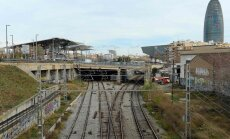 Почти 50 человек пострадали при крушении поезда в Барселоне