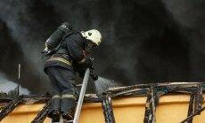 Garkalnes novadā ugunsgrēkā sadeg četri cilvēki