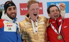France Martin Fourcade, Norway Johannes Boe, Ole Einar Bjoerndalen