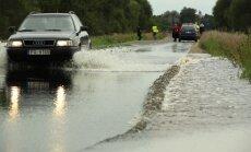 Plūdi Latgalē pašvaldību ceļiem nodarījuši 4 miljonus eiro zaudējumus