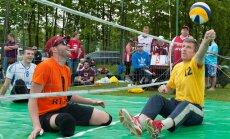 Foto: Paralimpiskā sporta diena Rīgā