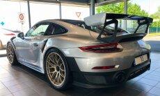 ФОТО: Латвийский баскетболист приобрел Porsche за 325 тысяч евро