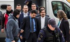 Grieķija Turcijai neizdos apvērsuma rīkošanā vainotos karavīrus, lemj tiesa