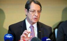Kipras apvienošana: Grieķu līderis prasa Turcijas karavīru aiziešanu