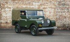 'Land Rover' izgatavos 25 klasiskos 50. gadu apvidniekus