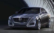 'Cadillac CTS' sedans būs vieglākais savā klasē