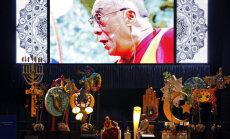 Septembra otrajā pusē Rīgā norisināsies Dalailamas mācības par viedumu un labestību