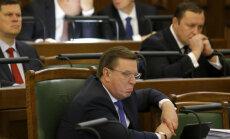 """Кучинскис: Правительство """"Согласия"""" и новой политической силы опасно для Латвии"""
