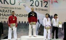 Karatists Dāvis Spriņģis kļūst par Eiropas junioru čempionu