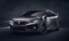 Jaunais 'Honda Civic Type R' ražošanā nonāks jau nākamgad