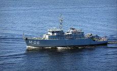Pie Latvijas krastiem sākas jūras eskadras mācības 'Squadex 2017'