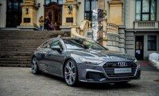 Foto: Rīgā prezentēts jaunais 'Audi A7 Sportback'