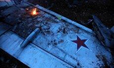 Sīrijā notriektā Su-25 pilots uzspridzinājis sevi ar granātu, paziņo komandieris