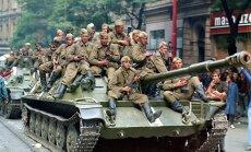 Pirms 50 gadiem PSRS apspieda Prāgas pavasari