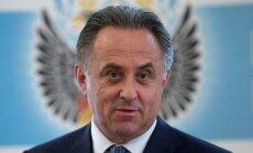 Krievijas vicepremjera Mutko versija par dopingu: vīrieša DNS sievietes organismā var nokļūt pēc seksa