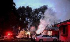 ASV nelielai lidmašīnai nokrītot uz dzīvojamām ēkām, četri bojāgājušie