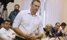 Krievijas policija veic kratīšanu Navaļnija dzīvesvietā