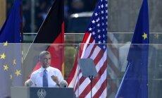 'Gadsimta lielākā andele': ASV un ES brīvās tirdzniecības līgums