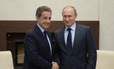 """Путин обратился к Саркози на """"ты"""""""