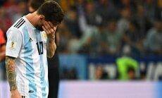 'Salauztā Argentīna': Mesi izmisumā, eksperti kritizē, fani nikni