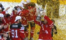 Kanādas hokejisti ar graujošu uzvaru gāž Znaroku un Krieviju no troņa