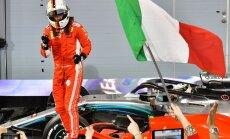 Fetels uzvar arī sezonas otrajā F-1 posmā