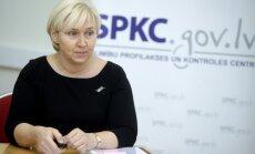 Pēc KNAB dokumentu izņemšanas bijusī SPKC vadītāja paņem slimības lapu