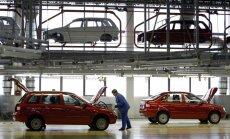 Krievijas IKP gada pirmajos mēnešos sarucis par pusprocentu