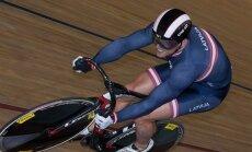 Treka riteņbraucējs Ķiksis izcīna zeltu arī pasaules čempionātā veterāniem sprintā
