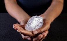 Izsolīs otru lielāko dimantu pasaulē
